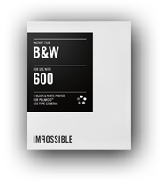 Impossible B&W film for 600 type cameras